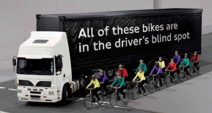 drivers blind spot