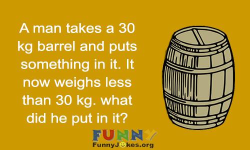 barrel-riddle