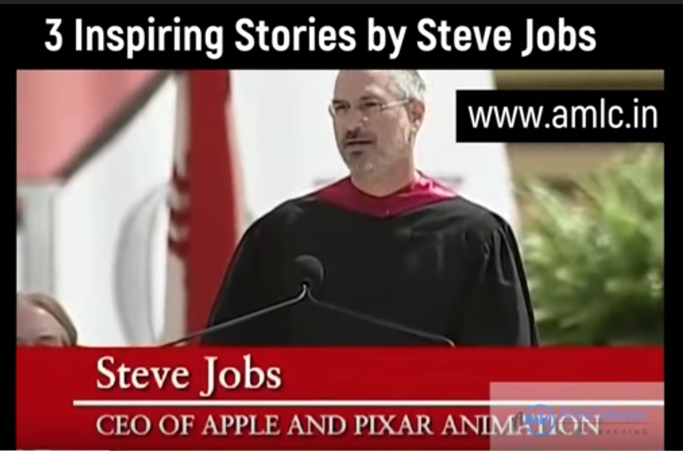 3 Inspiring Stories By Steve Jobs